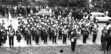 Pose de la première pierreEglise Christ-Roi-Mâche10 septembre 1967