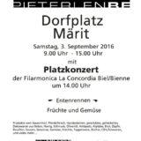 Dorffest, Pieterlen 3 septembre 2016